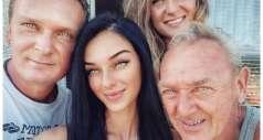 Семья с самым редким цветом глаз