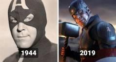 Первое появление супергероев