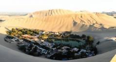 «Таинственный рай» - красивый город-оазис посреди перуанской пустыни