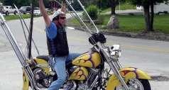 Зачем байкерам высокий руль?