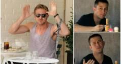 Смешные реакции знаменитостей, «пойманных» папарацци
