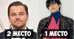 Самые красивые парни 2020 года