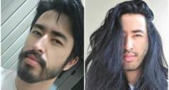 Парни, решившие отрастить длинные волосы, поделились результатами