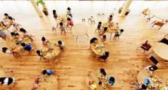 Детский сад в Японии построен с использованием только натуральных материалов