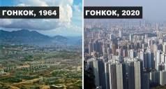 Как менялись города