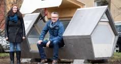 В немецком городке появились «капсулы» для бездомных людей
