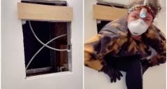 Девушка из Нью-Йорка нашла секретную квартиру за зеркалом в ванной