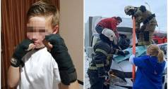 11-летний мальчик, спрыгнул с 23 этажа и выжил